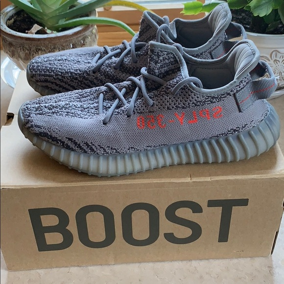 new products 228a8 0e8c4 AUTHENTIC yeezy boost 350 v2 Beluga Gray
